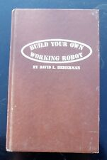 HOW TO BUILD YOUR OWN ROBOT in your home workshop - 1977 early robotics book