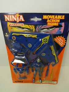 "Mannix Ninja Warrior 4"" knock-off figure - gi joe arah batman motu ko"