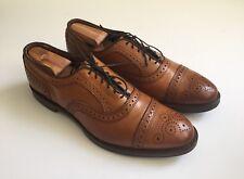 $425 Allen Edmonds 'Strand' Cap Toe Oxford in Walnut Leather Men's Size 10
