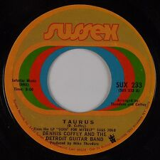 DENNIS COFFEY & THE DETROIT GUITAR BAND: Taurus / Can You Feel It SUSSEX 45 Funk