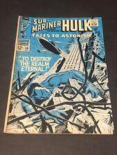 Tales to Astonish #98 VG/F Hulk Sub-Mariner Marvel  1967