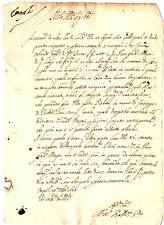 Lettera Comunicazione Scomparsa Pier Francesco Magni Credito Casa Empoli 1647