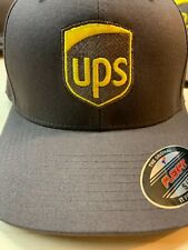 Flexfit Yupoong UPS HAT Brand New Fitted Embroidered Size Large/XL