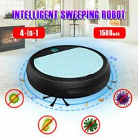 automatic smart vacuum cleaner 4-in-1 sweeping robot uv sterilize dry wet mop 1