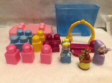 Disney princess Mega Blocks Cinderella Good Mother Figures Play Set Box