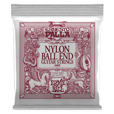 Ernie Ball Ernesto Palla Black Nylon Gold Ball End Classical Guitar Strings