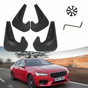 4 X New Car Mud Flaps Splash Guard EAV Plastic For Car Auto Left and Right Tires
