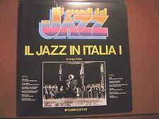 IL JAZZ IN ITALIA vol I -LP-Fabbri-Collana I GRANDI DEL JAZZ- A.Polillo 12 tkrs