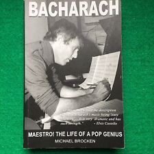 Bacharach: Maestro: The Life of a Pop Genius: Michael Brocken: Paperback