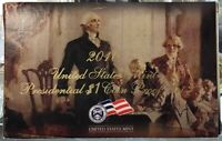 2010 U.S. Mint Presidential 1$ Dollar Coin Proof Set Complete With Box & COA
