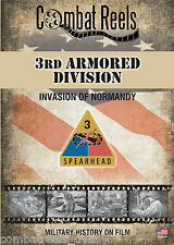 3rd Armored Division: Normandy Invasion: Combat Camera Film Footage Research DVD