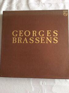 Coffret Georges Brassens.Vinyles