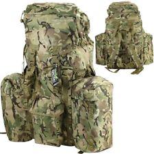 BRITISH ARMY STYLE BERGEN 120 LITRE RUCKSACK MTP BTP CAMO PLCE KIT BAG CADET