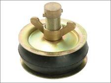 """Bailey 2565 Drain Test Plug 200mm 8"""" Brass Cap Steel Plate Brass Rubber Bung"""