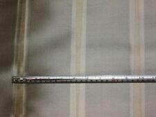 Ardecora Zimmer+ Rohde Silver & Beige Viscose Voile Woven Stripe Fabric, 2.5 mts
