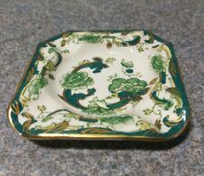 Antique Masons Chartreuse Pattern Ashtray #E