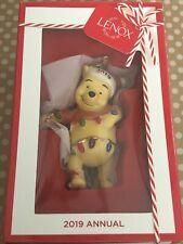 Lenox Disney 2019 Pooh's Bright Ideas Annual Christmas Ornament