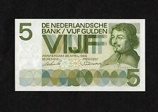 Netherlands 5 Gulden banknote, P90a, 26.04.1966