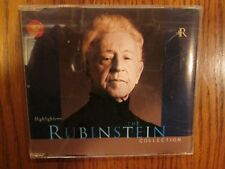 Arthur Rubinstein (Highlights from) The Rubinstein Collection Promo CD Sampler