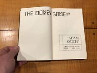 The Money Game Adam Smith 1968 1st Edition Rare VINTAGE Personal Finance Guide