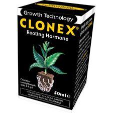 Clonex Rooting Gel 50ml Stecklingsgel Wurzelstimulator Bewurzelungshormon Wurzel