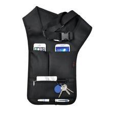 Leather Shoulder Holster Wallet Security Money Body Belt Anti Theft