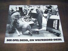 TOPRARITÄT Herrlicher Prospekt Opel Weltrekord Diesel von 1972 !!!