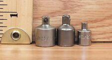 3 Unbranded/Generic Female / Male Socket Adapters Only **READ**