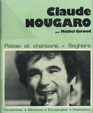 EO JAZZ + MICHEL GIROUD + CLAUDE NOUGARO + SUPERBE DÉDICACE : CLAUDE NOUGARO
