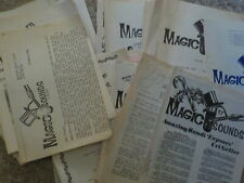 33 issues Magic Sounds & Sights magazine 1980-1982
