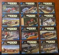 Acceleracers Cards 12 Metal Maniac Vehicles Lot! NM to M! RARE! Never Used!
