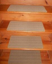 14 Step 10'' x 24'' + 2 Landing + 1 Runner Stair Treads Heat Set Nylon