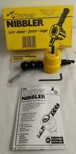 Turner Nibbler Sheet Metal Cutting Head For Hand Drills With Extras