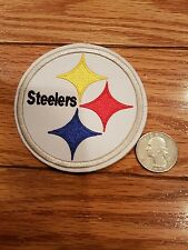"""Pittsburgh Steelers Vintage  Iron On Patch  NFL  3.25""""x3.25"""""""
