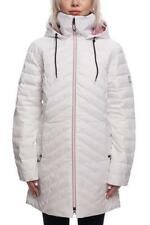 2019 NWT 686 Bliss Down Insulator Jacket Snowboard Womens S Small White RA117
