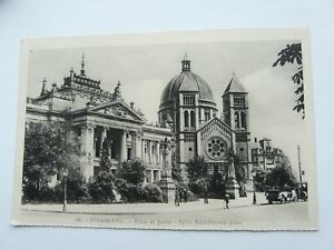 France : Strasbourg, Palais du Justice in 1941 when it was German