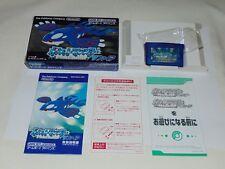 Game Boy Advance JAP Pokemon Shappire U1410