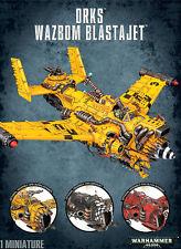 Ork Wazbom Blastajet Dakkajet Blitza Burna Bommer Orks Warhammer 40k Flyer NEW