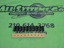 RUBYCON 16v 1500uf 105c Capacitors 10 x 20 - QUANTITY 10