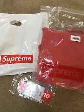 Supreme Overdyed Hooded Sweatshirt Size M Confirmed RED Hoodie New 2018 Medium