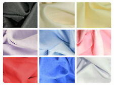 Plain Winceyette Flannelette 100% Brushed Cotton Fabric -105cm | per metre /half
