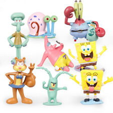 SpongeBob SquarePants Patrick Sandy Gary 12 Pcs Action Figure Cake Topper Toys