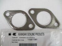 2 Muffler Gasket Kawasaki 11061-7061 Genuine FX921V FXT00V