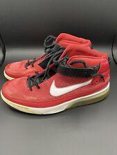 Men's Nike Shox Spotlight Sneakers Red 315836-611 2007 Rare Size 14 Shoes