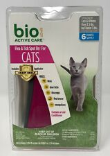 Bio Spot Active Care Flea & Tick Spot On for Cats 2.5-5 Lbs 6 Month Supply