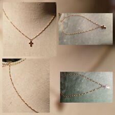 Pendentif /_ CROIX 53x33mm /_ Perle breloque charm création bijoux collier /_ B569