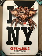 Gremlins 2 The Next Batch Print Poster LE 175 NYCC Variant Marc Schoenbach Mondo