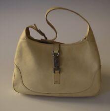 Gucci Bag Jackie Leather Creme Vintage Iconic