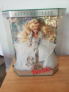 1992 Happy Holiday Barbie -Blond -Special Editn Green -Mattel #1429 - MIB, NRFB
