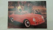 32a 174 1980er PORSCHE 356 Speedster SPECIAL Productos PROSPECTO FOLLETO Inglés